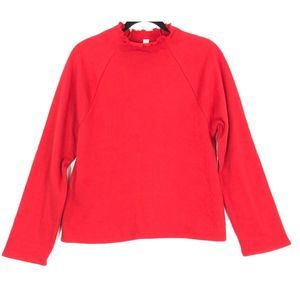 BP. lettuce hem fleece pullover sweatshirt 9195